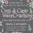 CORSI DI CANTO VOICE COACHING, 2016 . 2017